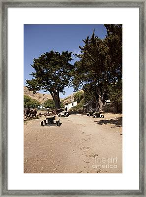 Welcome Center Framed Print by Amanda Barcon