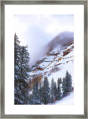 Welcome December Framed Print