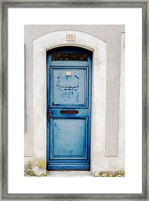 Welcome Door Framed Print