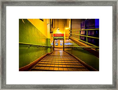 Welcome Down Under Framed Print by Brian Xavier