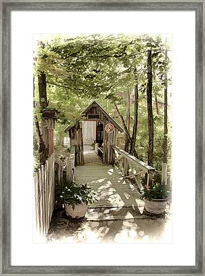 Welcome Framed Print by Fred Larson