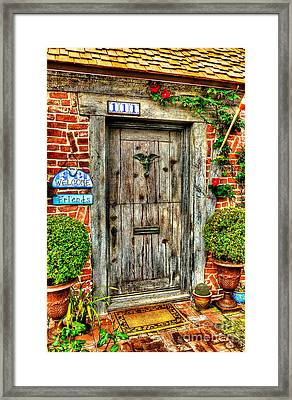 Welcome Friends Framed Print by Jim Carrell