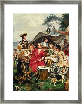 Welcome Framed Print by Gustave Jean Jacquet