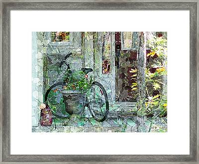Welcome Home Framed Print by Claire Bull