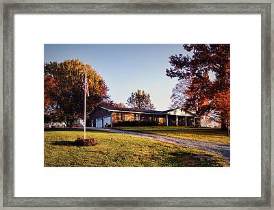Welcome Home Framed Print by Cricket Hackmann