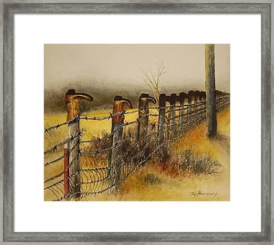 Welcome Framed Print by Joy Bradley
