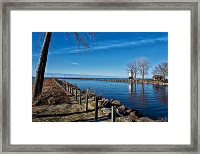 Welcome Season Framed Print