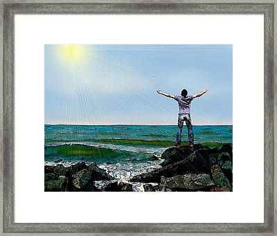 Welcome The Day Framed Print by Jann Paxton