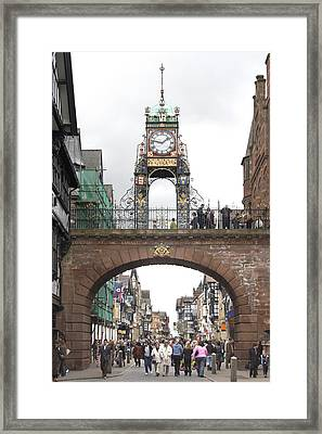 Welcome To Chester Framed Print by Mike McGlothlen