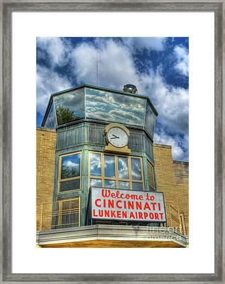 Welcome To Cincinnati 2 Framed Print by Mel Steinhauer