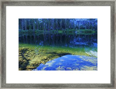 Welcome To Eagle Lake Framed Print