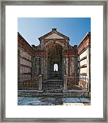 Welcome To Eternity Framed Print by Steve Harrington
