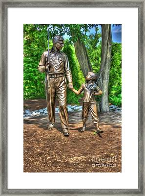 Welcome To Mayberry Framed Print