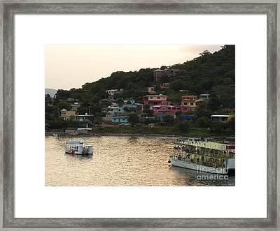 Welcome To Mazatlan Framed Print