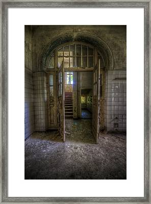 Welcome To My World Framed Print by Nathan Wright