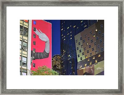 Welcome To New York Framed Print by Jeffrey Friedkin