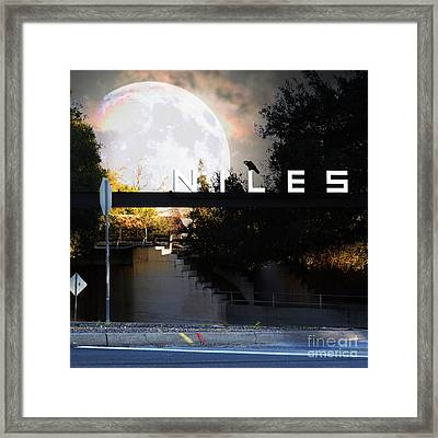 Welcome To Niles California Gateway To The Stars 7d12755 Square Framed Print by Wingsdomain Art and Photography