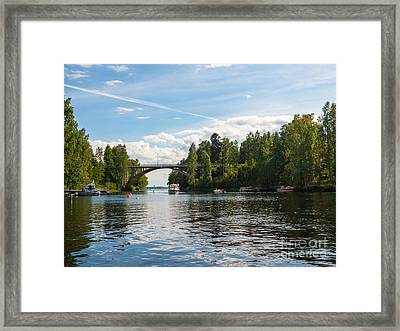 Welcome To Oravi Framed Print