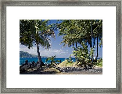 Welcome To Paradise Framed Print by Sharon Mau