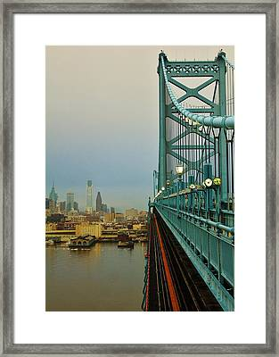 Welcome To Philly Framed Print