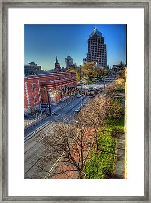 Welcome To Rochester Framed Print by Tim Buisman