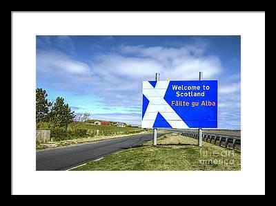 Scottish Borders Framed Prints