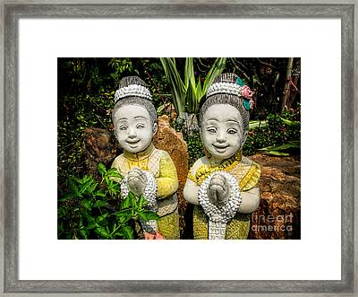 Welcome To Thailand Framed Print