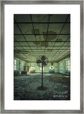 Welcome To The Asylum Framed Print by Evelina Kremsdorf