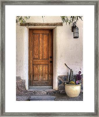Welcome To The Barrio Framed Print