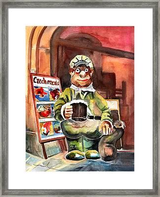 Welcome To The Czech Republic 04 Framed Print by Miki De Goodaboom