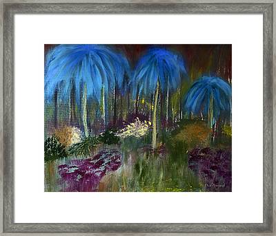Welcome To The Jungle Framed Print by Dick Bourgault
