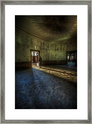 Welcome To The Light Framed Print by Nathan Wright