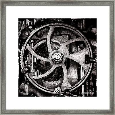Welcome To The Machine Framed Print