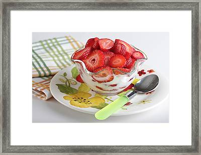 Welcome To The Morning Framed Print by Sarah Christian