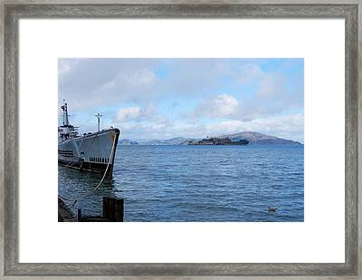 Welcome To The Rock Framed Print by JAMART Photography