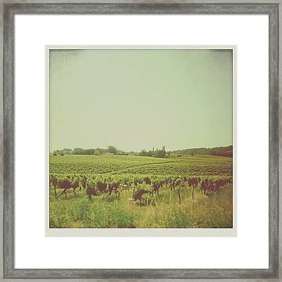 Welcome To The South West Framed Print