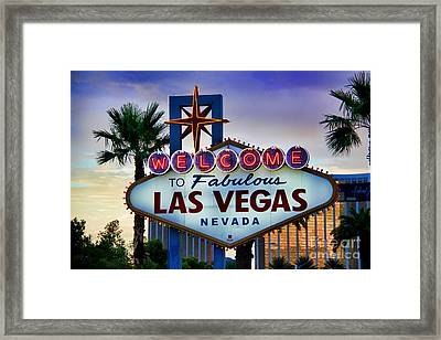Welcome To Your Best Vacation Framed Print