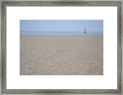 Welcoming Horizon Framed Print by Kiros Berhane