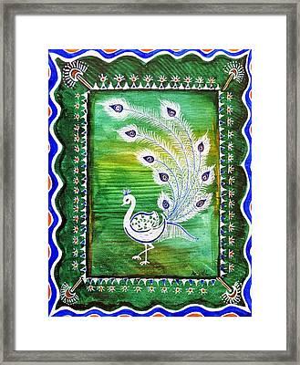 Welcoming Rain Framed Print by Anjali Vaidya