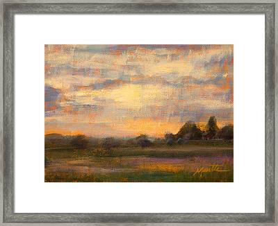 Weld County Framed Print by Athena  Mantle