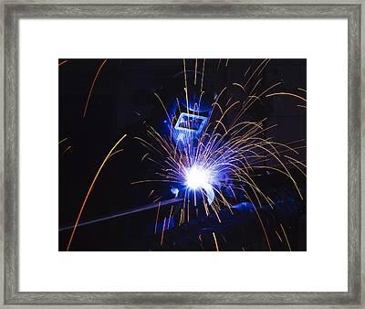 Welding  Framed Print by Andrew James