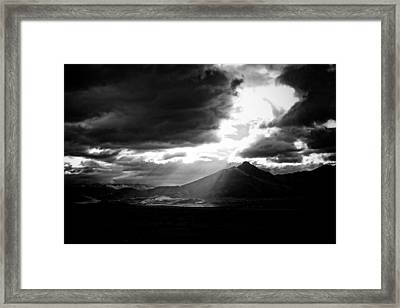 Weldon In The Light Framed Print