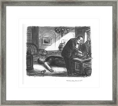Well, Dear, How Is It? Framed Print