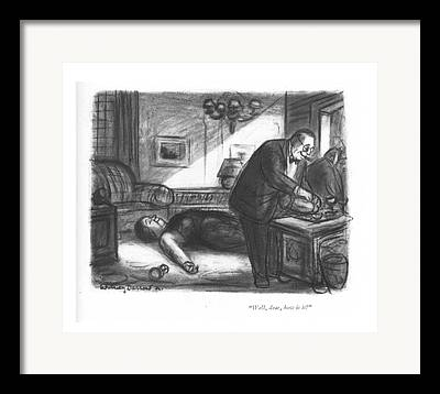 Poisonous Drawings Framed Prints