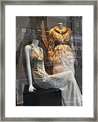 Well Dressed Airheads Framed Print by Sarah Loft