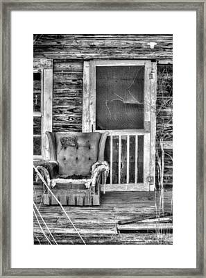 Well Excuse Me But I Think You Have My Chair Framed Print by JC Findley