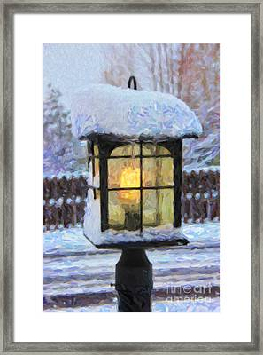 We'll Leave The Light On For You Framed Print by Jon Burch Photography