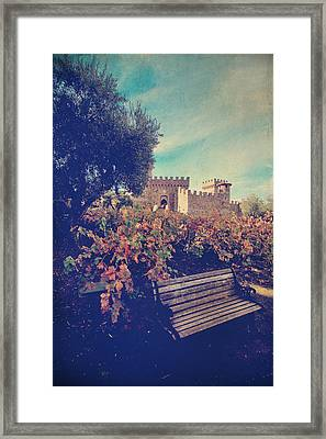 We'll Meet Among The Vines Framed Print by Laurie Search