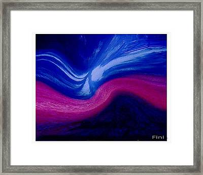 Well Pleased Wide Framed Print