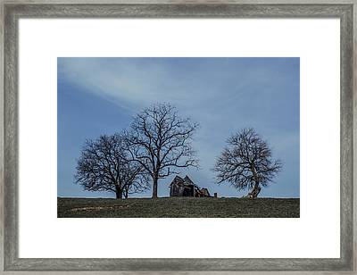 We'll Stay Til The Very End  Framed Print by Off The Beaten Path Photography - Andrew Alexander